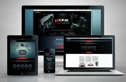 iZone: New Brochure & Website