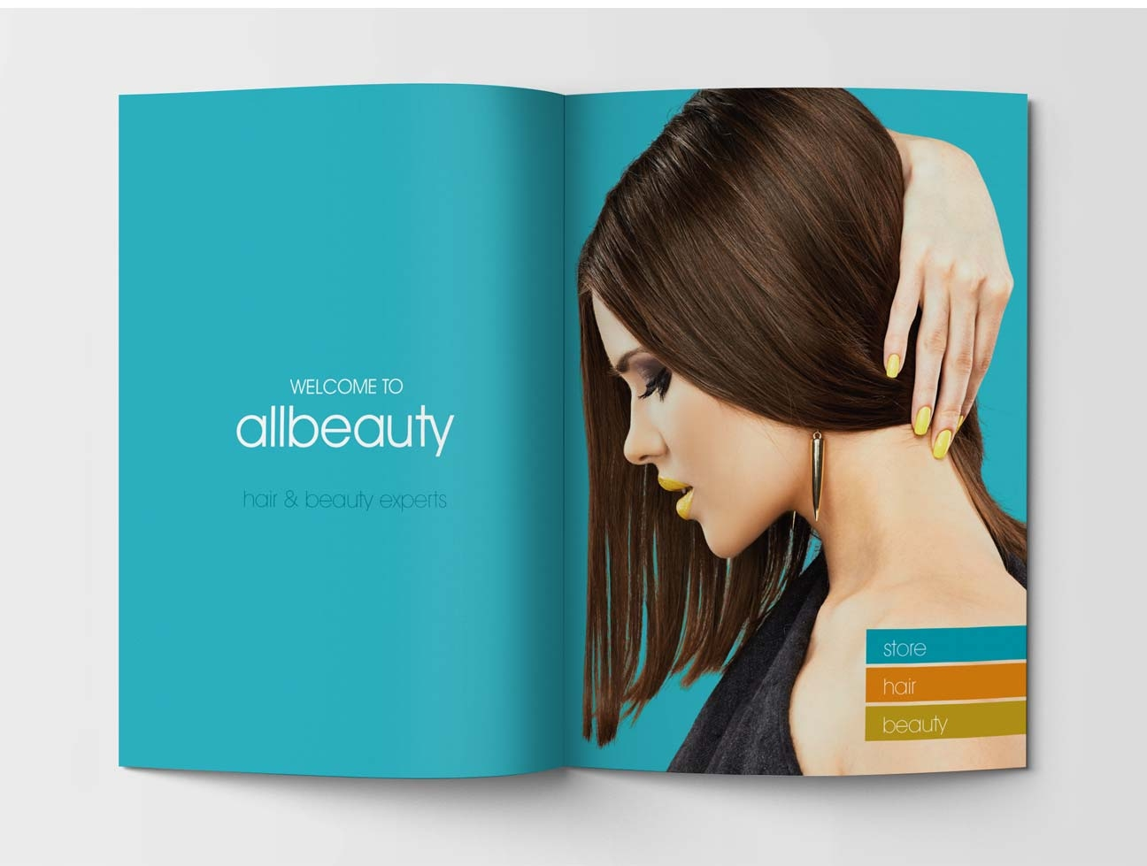 All Beauty Salon: Brochure – Tinsquirrel