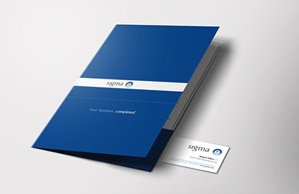 Sigma Group: Folder & PowerPoint