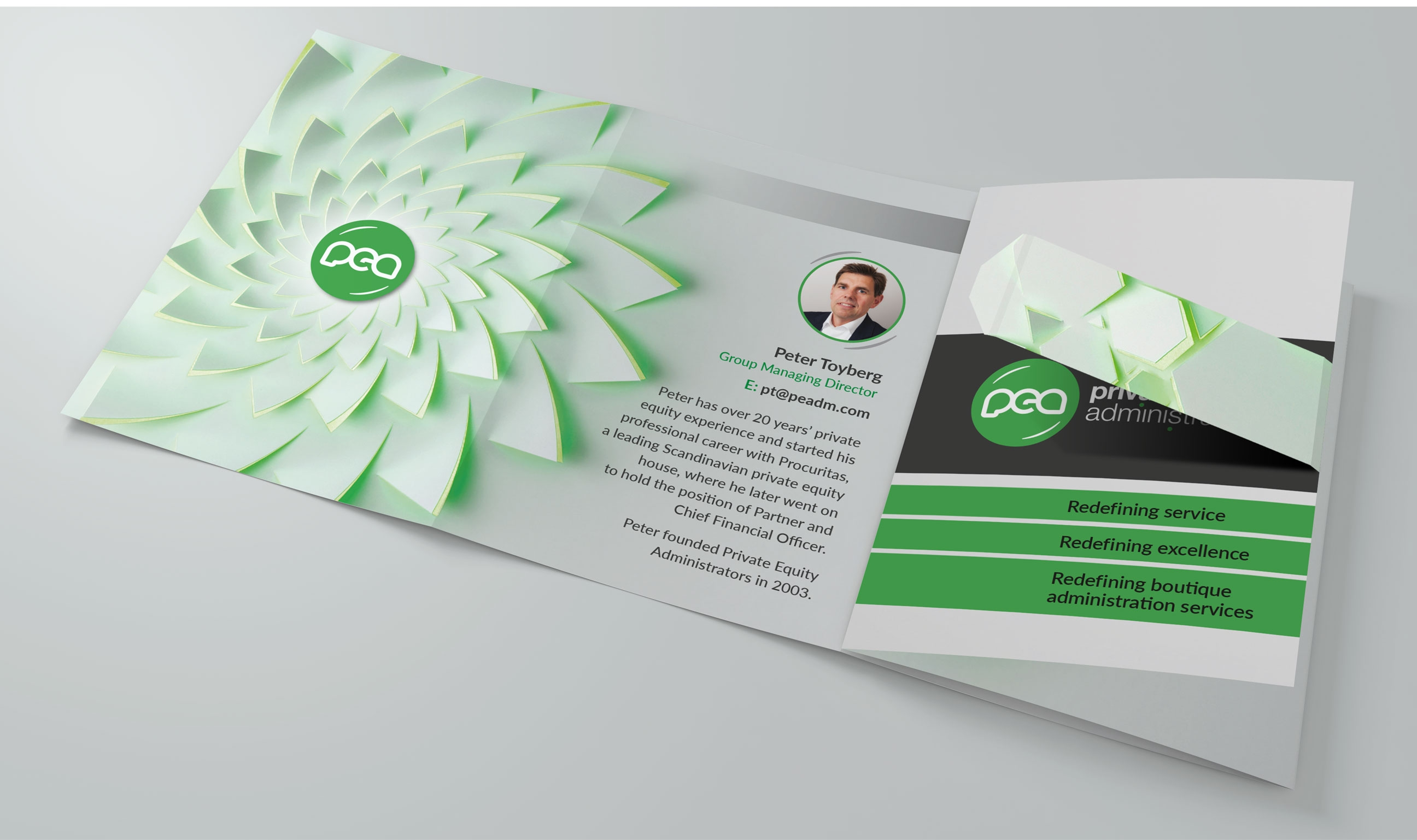 PEA: Promotional Folding Business Card – Tinsquirrel