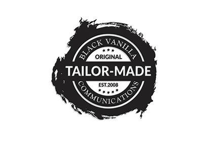 Black Vanilla: Tailor-Made Logo