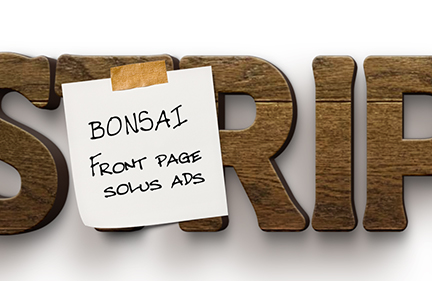 Bonsai: 2016 FPS Advertising